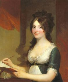 Portrait of a Young Woman by Stuart, Gilbert | American. About 1802-1804. Indiana Museum of Art.