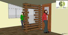 muro divisorio movible ambientes83@gmail.com facebook.com/ambientes83