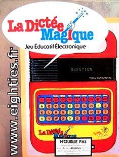 The dictée magique - années 80