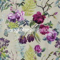 Tulipani Wallpaper from Designers Guild - PDG678/03 - Linen