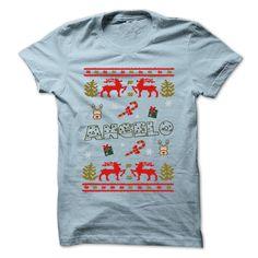 nice Christmas ANGELO ... 999 Cool Name Shirt ! - Get Cheap