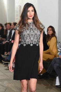 Amelia Toro en la inauguración del Bogotá Fashion Week