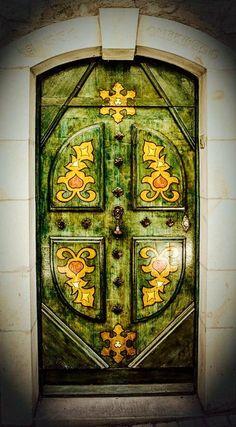 Amazing Detail on Door