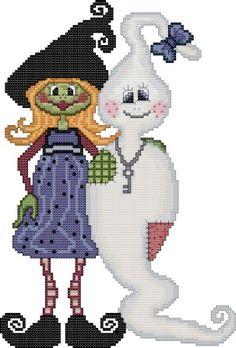 JB-Cross-Design: Fantasia Cross Stitch Cross Stitch Patterns: Halloween