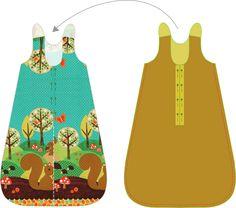 Der Schlafsack ist für Babies von ca. 6 – 14 Monate geeignet. Die Länge beträgt 80 cm. Benutze luftdurchlässige Materialien wie ...