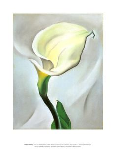 Calla Lilly Turned Away, 1923  by Georgia O'keefe  Item # 1248991  a;;posters.com