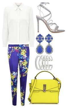 """""""Untitled #704"""" by meryem-mess ❤ liked on Polyvore featuring Eastex, Stella & Dot, Darling, Henri Bendel and Gianvito Rossi"""