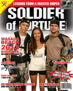 Wasaga Beach Paintball Novelty Magazine Cover | Badlands Paintball Gear Canada