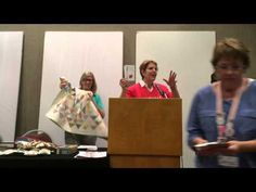 ▶ MODA FRIVOLS Schoolhouse  Video Quilt Market Spring 2015 - YouTube
