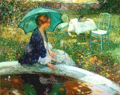 Click en la imagen para ver más obras Richard E. Miller Nació en San Louis, Missouri, Estados Unidos, el…