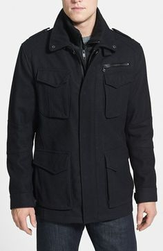 Marc New York by Andrew Marc 'Paxton' Wool Blend Jacket available at #Nordstrom