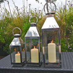 st ives hurricane garden lantern by london garden trading | notonthehighstreet.com