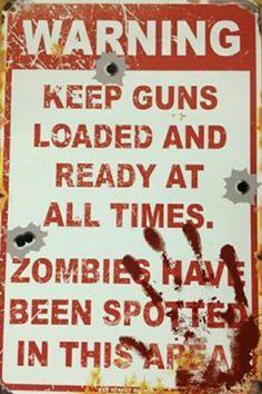 Warning: Zombies