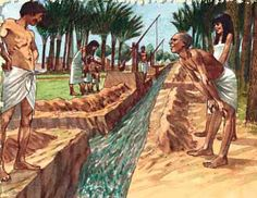 Ancient Mesopotamia Irrigation System