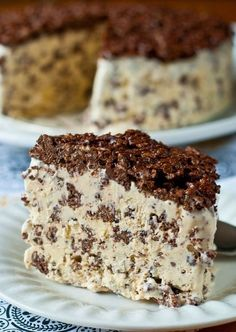 Chocolate nutella crunch icecream cake recipe! I'm having this for my next birthday. I'll feel like I'm five and that's fine by me.