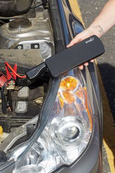 And should disaster strike, be prepared with this professional battery jump starter.