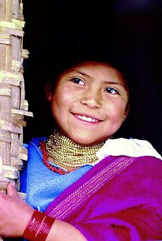 Smile from Ecuador! #Ecuador #Travel #UBELONG