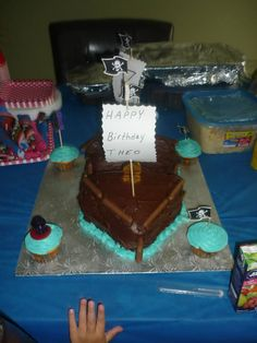 The Pirate Cake* Pinned by* Van xo Vans, Desserts, Food, Tailgate Desserts, Deserts, Van, Essen, Postres, Meals