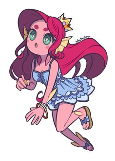 This work is not mine, credits to the author Cartoon Art Styles, Cute Art Styles, Character Drawing, Character Concept, Concept Art, Monster Prom, Monster Girl, Drawing Reference Poses, Hand Reference