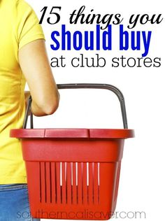 15 Things You Should Buy at Club Stores money ideas, money principles, Ways To Save Money, Money Tips, Money Saving Tips, How To Make Money, Living On A Budget, Frugal Living Tips, Frugal Tips, Shopping Hacks, Bargain Shopping