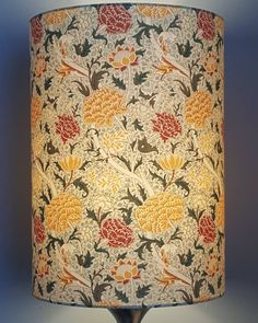 Fabricate Ireland specialise in handmade unique bespoke lampshades. Handmade Lampshades, William Morris, How To Make, Gifts, Inspiration, Design, Decor, Style, Biblical Inspiration
