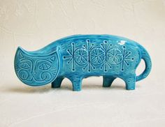 New ceramic sculptures made from vintage molds