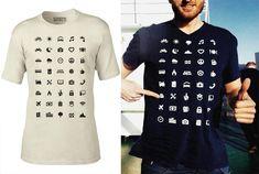 IconSpeak est un excellent T-shirt avec 40 icônes universelles imprimées dessus, qui vous aideront à communiquer facilement dans le monde entier lorsque vous êtes en voyage ! Hôtel, transport, nourriture, docteur, wifi ou même toilettes, le t-shirt IconSpeak sera une aide précieuse