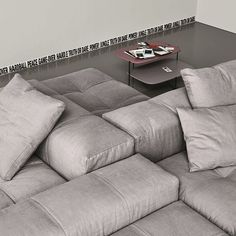 The perfect modular sofa for my man and my dog