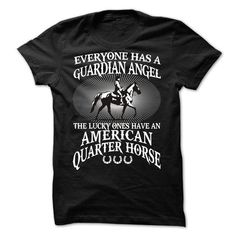 My American Quarter Horse Is a Guardian Angel - #muscle tee #hoodie for teens. GET => https://www.sunfrog.com/Names/My-American-Quarter-Horse-Is-a-Guardian-Angel.html?68278