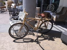 Bamboo bike #commuterbicycle #commuterbike