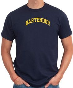 Bartender Men T-Shirt