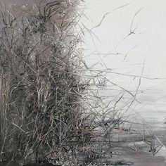 Zeng Fanzhi (Chinese, b. 1964), Pond, 2006. Oil on canvas, 100 x 100 cm.