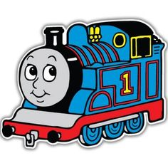thomas the tank engine free clip Thomas Birthday Parties, Thomas The Train Birthday Party, Trains Birthday Party, Car Party, Train Clipart, Train Cartoon, Train Template, Train Drawing, Train Art