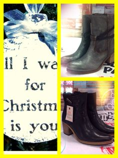 Redrag..boots; all I want for Christmas is Shoes !