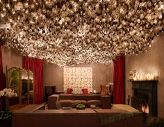 Lightbulb Room at Gramercy Park Hotel NYC, I want to see that!