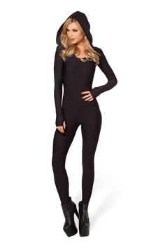 Ninja Hooded Catsuit by Black Milk Clothing $120AUD