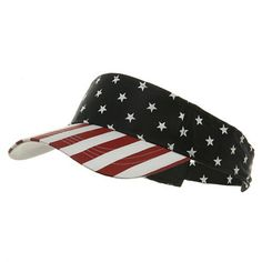 dd764c7dbee USA Flag Visor-USA Star Stripe OSFM MG https   www.amazon. Sun Visor HatVisor  Hats4th ...