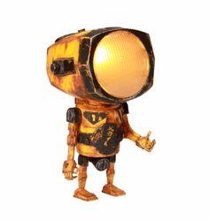 lampe robot | Malgré leur look d'Astrobot rouillé, elles sont fonctionnelles ...