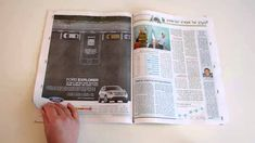 Ford Explorer: Magazine-Ford and agency BBR Saatchi & Saatchi (Israel) created QR code-enabled interactive print ads to demonstrate the Park Assist, Adaptive Cruise Control and Power Fold features on their Explorer SUV. A three-ad campaign was released, one for each feature. To view the demo, readers needed to scan the QR code and place their phones on the highlighted area.