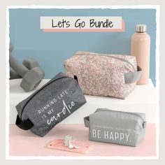 Get one small, one medium, and one large Let's Go Pouch for only $31! Great for bathroom and beauty storage or on its own for lip glosses, phone chargers, face masks, or any other small accessories that need a home. Available for a limited time at Shop.BagItUpLisa.com. #BagItUpLisa #ThirtyOneGifts #31Bags Thirty One Catalog, Thirty One Bags, Thirty One Gifts, The Glow Up, Small Makeup Bag, 31 Gifts, Travel Cards, Station Necklace, Paper Clip