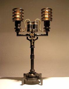 Steampunk Lamp #steampunk