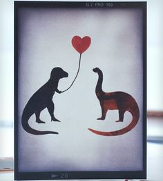 Rawr Dinosaur Card - Pack of 5 | Collections Romance | Glak Love | Scoutmob Shoppe | Product Detail