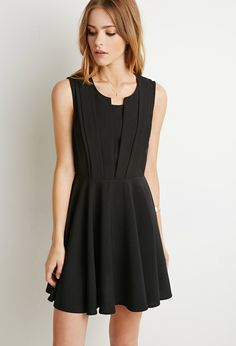 Pleated Fit & Flare Dress | Forever 21 Canada