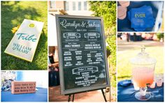 Can you say Tribe Pride? What amazing W&M touches at this wedding. #TribeBride #TribeWeddings #WMAlumnihouse Carolyn+Josh|Wedding | Macon Photography