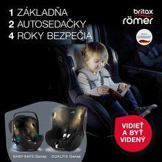 Novinky od značky Britax-Romer 💥 1 základňa - 2 autosedačky - 4 roky bezpečia. 💥 Modulárny systém iSense ponúka múdre riešenie pre vaše komfortné a bezpečné cestovanie. Pre deti od narodenia do 4 rokov. Baby Safe, Germany, Movies, Movie Posters, Films, Film Poster, Deutsch, Cinema, Film