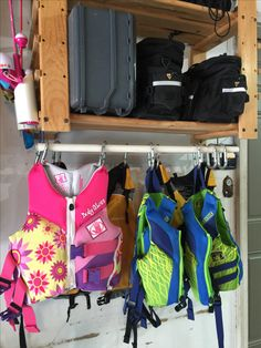 Life Jacket Storage And Drying Solution