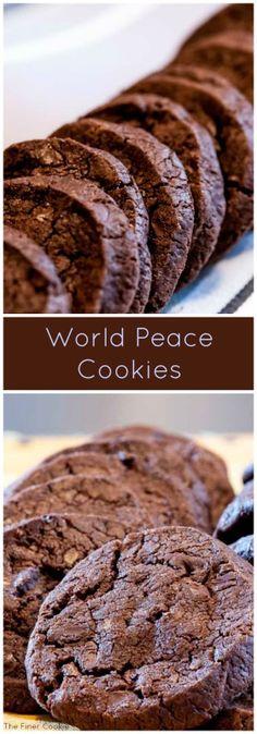 #cookies #chocolate #doublechocolate #shortbread #peaceofferings
