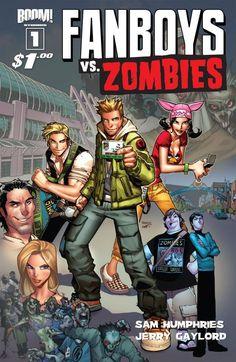 Fanboys vs. Zombies #1 #Boom #FanboysVsZombies On Sale: 4/4/2012