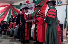VP Osinbajo decorates Innoson Motors' Boss as Nig. Defence Academy awards him Honorary Degree   Chairman of Innoson Group Dr Innocent Chukwuma was today conferred with Honorary Degree of Management Science by the chairman Nigerian Defence Academy who is also Minister of Defence Mansur Muhammad Dan-Ali and was decorated by the vice president Prof. Yemi Osinbajo. The Conferment of Honorary Degree was also awarded to two other personalities - Prof Grace Alele Williams OFR Nigeria's first female…