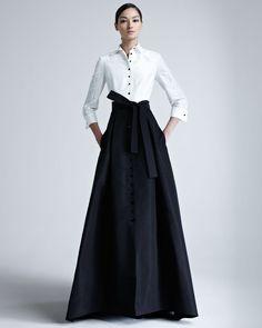 Imagen de https://cdnc.lystit.com/photos/2012/10/05/carolina-herrera-ivory-black-taffeta-gown-product-1-4892600-588817759.jpeg.